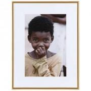 Fotolijst Easy Frame - goudkleur - 30x40 cm - Leen Bakker