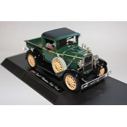 N1931 Ford Model A Pick Up Truck In Dark Green Diecast Scale Model