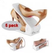 Cipőszervező fehér 5 db