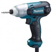 Surubelnita electrica (masina de insurubat) cu impact MAKITA TD0101F, 100 Nm, 230 W