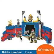 Generic 10749 Super Heroes Thor Vs. Hulk: Arena Clash Building Blocks DIY Educational Bricks Toys for Children Compatible with 76088