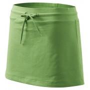 ADLER Sukně se všitými kraťasy 60439 trávově zelená XS