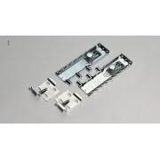 Clic WALL BRACKET 1 Aluminium