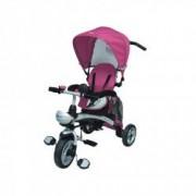 Tricicleta pentru copii BabyMix X3 Clever GB 14747 Roz