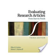 Evaluating Research Articles from Start to Finish (Girden Ellen R.)(Paperback) (9781412974462)
