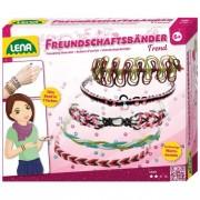 Lena fonalas barátság karkötő készítő
