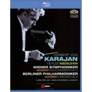Herbert Von Karajan: Mozart - Violin Concerto No. 5/Dvorak - Symphony No. 9 [Blu-ray] [1966]