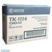 Kyocera TK-1114 Toner Cartridge FS-1040/FS-1020MFP/FS-1120. Single Color Toner (Black)