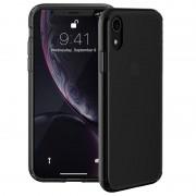 Capa Auto-Regeneradora Just Mobile Tenc para iPhone XR - Preto Transparente