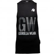 Gorilla Wear Dakota Mouwloos T-Shirt - Zwart - L