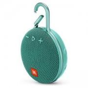 Преносима тонколонка JBL Clip 3 TEAL, Bluetooth 4.1, водоустойчива - IPX7, светлозелена, JBLCLIP3TEAL