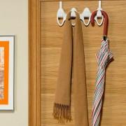 Cuier de usa sau perete-Alb