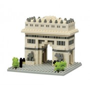 Kawada Nanoblock Arc de Triomphe de lEtoile Building Kit