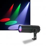 Proiector disco ADJ Pinspot LED Quad DMX
