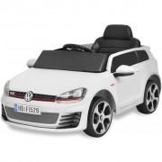 vidaXL Ride-on VW Golf GTI 7 12 V Elektromos kisautó+távirányító fehér