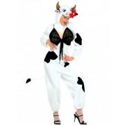 Vegaoo Sexy Kuh Kostüm für Damen
