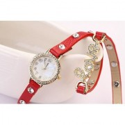 i DIVA'S Women Love party Wadding Red Beauty Girls Watches