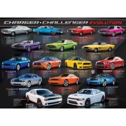 Puzzle Eurographics - Dodge Charger Challenger Evolution, 1.000 piese (58546)