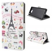 Bolsa Tipo Carteira Style Series para Sony Xperia 10 - Torre Eiffel
