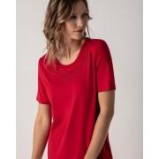 Helena Vera Shirt mit Stickerei & Strass kirsche female 40
