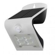 Aplica de exterior-lumina LED de culoare alba cu panou solar si senzor de miscare putere-2W 260 lm
