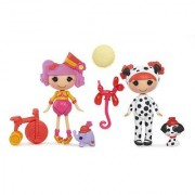 Mini Lalaloopsy Fun House dolls Peanut and Ember