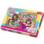 Puzzle clasic pentru copii - Barbie in vacanta 100 piese