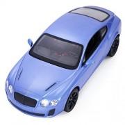 Goplus® New Radio Remote Control RC Car 1/14 Bentley Continental GT Supersports Blue New