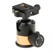 ELECTROPRIME® Tripod Head Ball 1/4 Hot Shoe Adapter + QR Plate for Canon DSLR Camera Q10