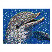 Pixel Art 4 planse Quercetti, 6800 piese, 6 ani+