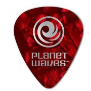 Planet Waves Red Pearl Celluloid Guitar Picks 100 pack Light