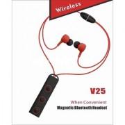 Bluetooth Headphones V25 Best Wireless Sports Earphones Mic HD Stereo Sweatproof In Ear Earbuds