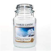 Yankee Candle Season Of Peace Large Jar Retail