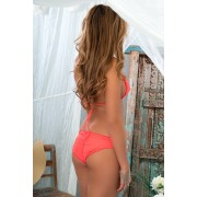 Luli Fama - Ruched Bottom Coral