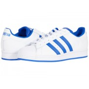 adidas Originals Superstar Footwear WhiteBold BlueClear Granite