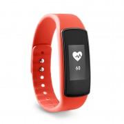 Pulsera Inteligente ADE: Relógio analisador da atividade com medição de pulso (cor vermelha)