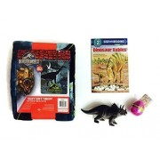 Clade Gravim Hatching Dinosaur Egg Bundle Triceratops Toy Jurassic World Throw Dino Babies Book