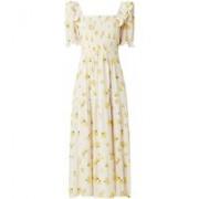 ba&sh Kiwane maxi jurk met bloemenprint en smockwerk
