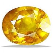 Jaipur Gemstone 9.25 ratti yellow sapphire(pukhraj)