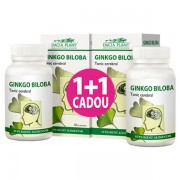 DACIA PLANT GINKGO BILOBA 60+60 comprimate