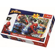 Puzzle Trefl 60 Curajosul Spider-Man