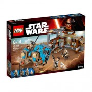 Set de constructie LEGO Star Wars Confruntare pe Jakku