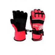 Finn dětské zimní rukavice C075 8-9 let světle červená