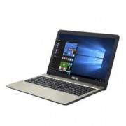 "Лаптоп Asus VivoBook Max X541UA-GO1372 (90NB0CF1-M37870), двуядрен Kabylake Intel Core i3-7100U 2.4GHz, 15.6"" (39.62 cm) HD дисплей (HDMI), 4GB DDR4, 1TB HDD, 1x USB 3.0 Type C, Linux, 2kg"