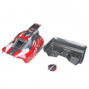 REMO Red Off Road Buggy Body Shell Canopy D5602 1/16 Buggy RC Car Part