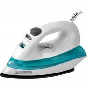 PLANCHA DE VAPOR BLACK AND DECKER IRBD100 ANTIADHERENTE BLANCO AZUL