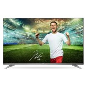 "LG 55UH7507, 55"" 4K UltraHD TV, 3840x2160, DVB-T2/C/S2, 1900PMI, Smart, ULTRA Slim, WiDi, WiFi 802.11.ac, Bluetooth, Miracast, DLNA, LAN, CI, HDMI, USB, TV Recording Ready, Narrow Bezel, Adjustable Eiffel Stand ,Metallic/Black"