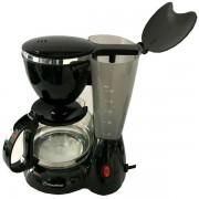 Filtru de cafea Hausberg HB-3650, 600 ml, 800 W, Negru