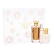 Prada La Femme confezione regalo Eau de Parfum 100 ml + Eau de Parfum 10 ml + lozione per il corpo 100 ml donna