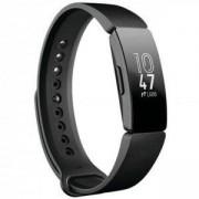 Смарт фитнес гривна Fitbit INSPIRE BLACK FB412BKBK, LCD сензорен екран, Крачки Изминато разстояние, Сърдечен пулс, Черен, FB412BKBK